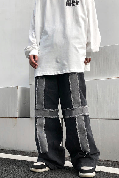 trendy fried street edge jeans