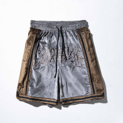 Premium quality silky feel stitched shorts in 2 colours