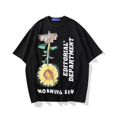 OVERSIZE oil painting T-shirt