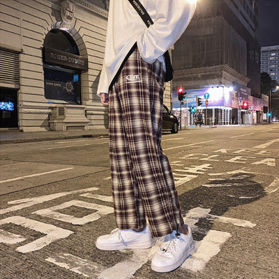 loose wild straight summer casual pants
