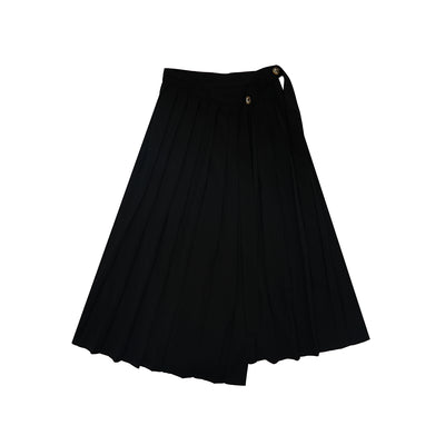 Dean niche design high waist thin long pleated Girl skirts