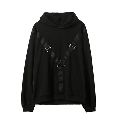 Autumn metal buckle casual jacket