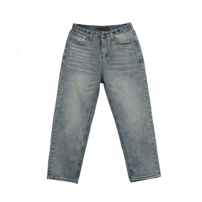 Leman men's straight jeans