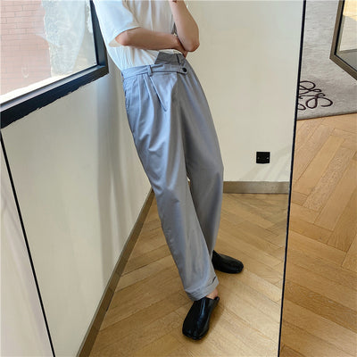 Summer straight small trousers
