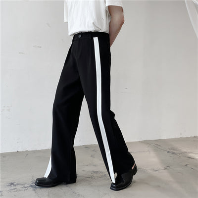 wide-leg straight sports casual pants