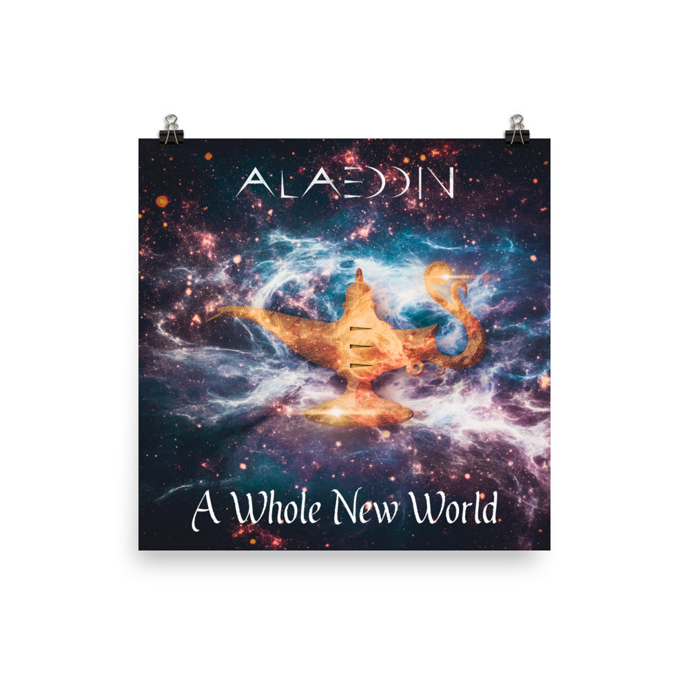 A Whole New World Posters