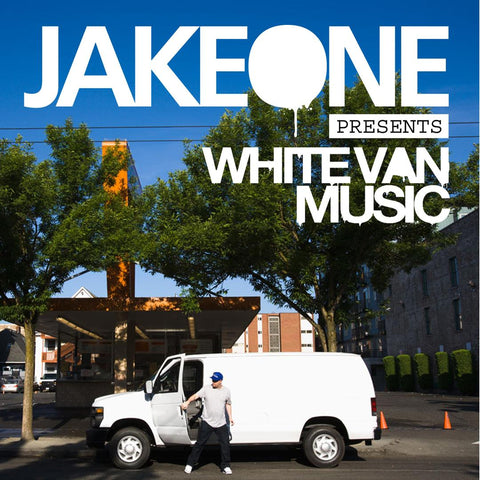 Jake One - White Van Music 2xLP VINYL