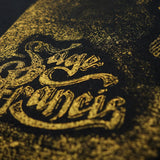 "Sage Francis ""Copper Gone"" Screenprinted Relief Print - VERSION B"