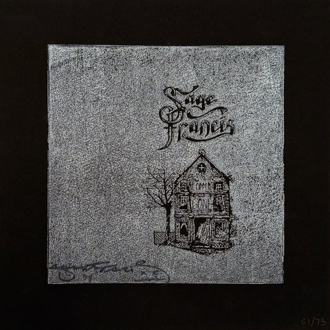 "Sage Francis ""Copper Gone"" Screenprinted Relief Print - VERSION C"