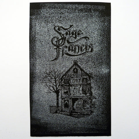 "Sage Francis ""Copper Gone"" Screenprinted Relief Print - VERSION D"