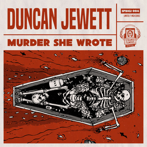 Duncan Jewett - Murder She Wrote Limited 7-Inch Record+MP3