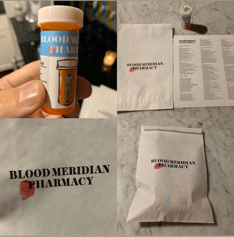 Trademarc - Blood Meridian PILL BOTTLE PACK + MP3