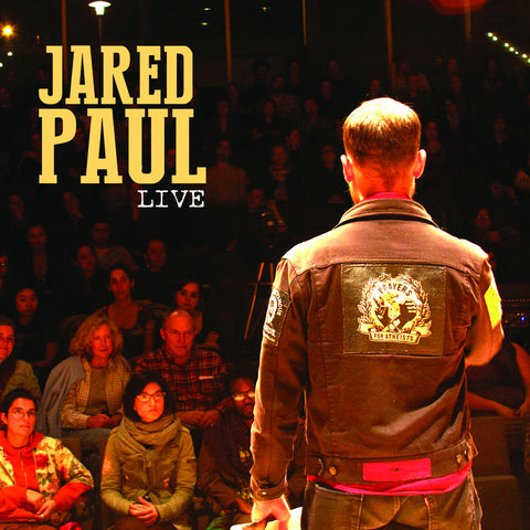 Jared Paul - Live SIGNED CD