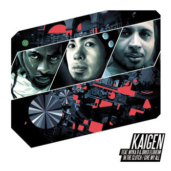 "Kaigen ft. Myka 9 & Orko Eloheim - In The Clutch / Give My All 12"" Vinyl"