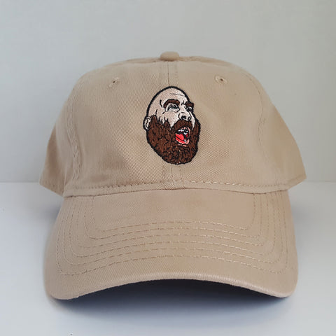 """Screamin'"" Sage Francis TAN Dad Hat"