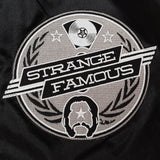 Strange Famous BLACK Satin Jacket