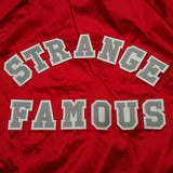 Strange Famous RED Satin Jacket