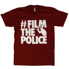 #FilmThePolice Cranberry T-Shirt