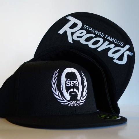 Strange Famous FLEXFIT Black Hat