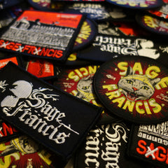 Sage Francis 3-Patch PACK