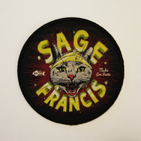 "Sage Francis ""Make 'Em Purr"" Patch"