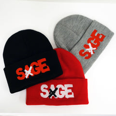 SAGE FRANCIS 'A Healthy Distrust' Knit Hat 3-PACK