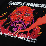 "Sage Francis ""Going Through Hell"" TOUR T-Shirt"
