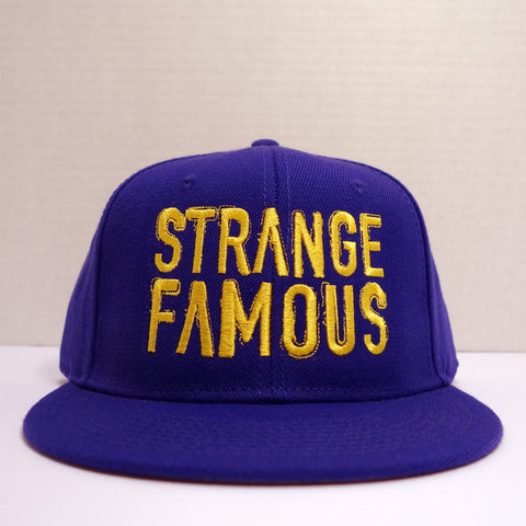 SFR Gold-on-Purple BLOCK TEXT Snapback