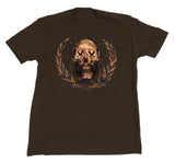 "Sage Francis ""Sick To D(EAT)H"" Brown T-Shirt"