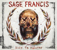 Sage Francis - Sick To D(EAT)H SIGNED CD+Extras
