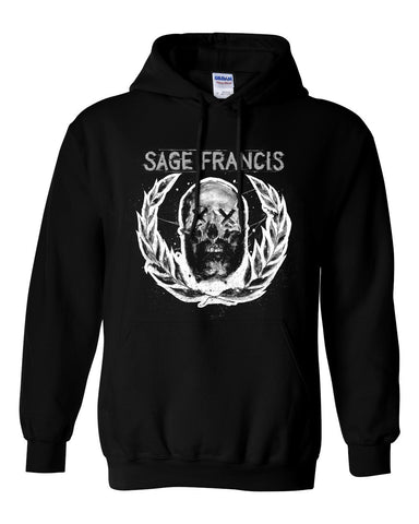 "Sage Francis ""Sick To D(EAT)H"" Black Pullover Hoodie"