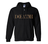 "Sage Francis ""Sick To D(EAT)H"" Black Zip Hoodie"