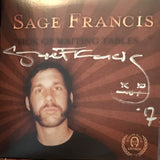 Sage Francis - Sick Of Waiting Tables SIGNED CD