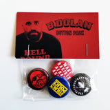 B. Dolan 1-Inch Button 4 PACK