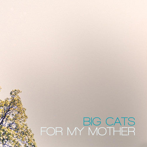 Big Cats - For My Mother SIGNED CD