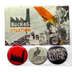 Buck 65 SITUATION Pin 3-Pack