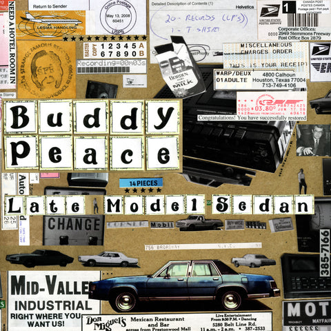 Buddy Peace - Late Model Sedan MP3 Download