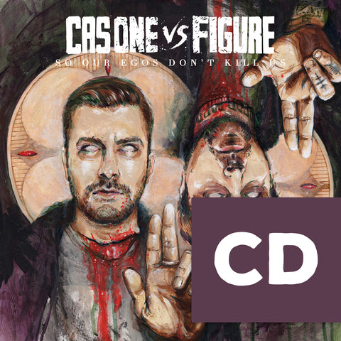 Cas One Vs Figure - So Our Egos Don't Kill Us CD+PRAYER CANDLE Pack
