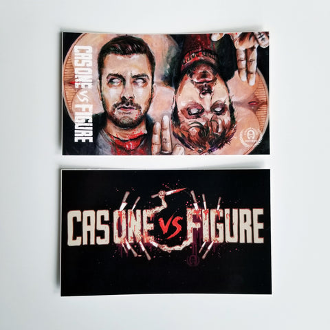 CAS ONE VS FIGURE Stickers - 10 Pack