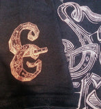 "Sage Francis ""Copper Gone"" LETTERING LOGO T-Shirt"
