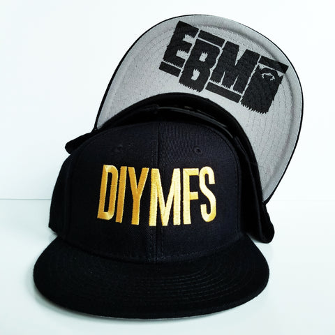 "Epic Beard Men ""DIYMFS"" Snapback"