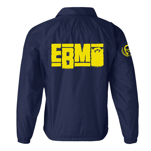 Epic Beard Men - This Was Supposed To Be Fun NAVY BLUE Coaches' Jacket+MP3