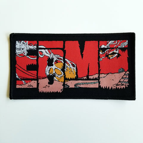 EPIC BEARD MEN Comet Logo Patch