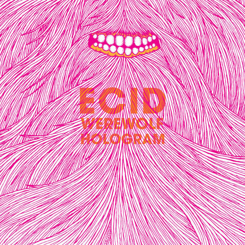 Ecid - Werewolf Hologram SIGNED CD