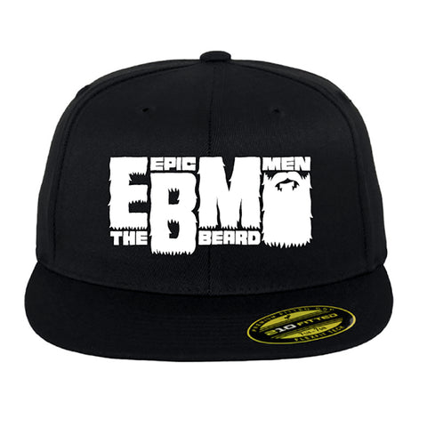 Epic Beard Men BLACK Snapback