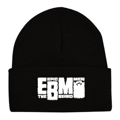 Epic Beard Men BLACK Knit Hat
