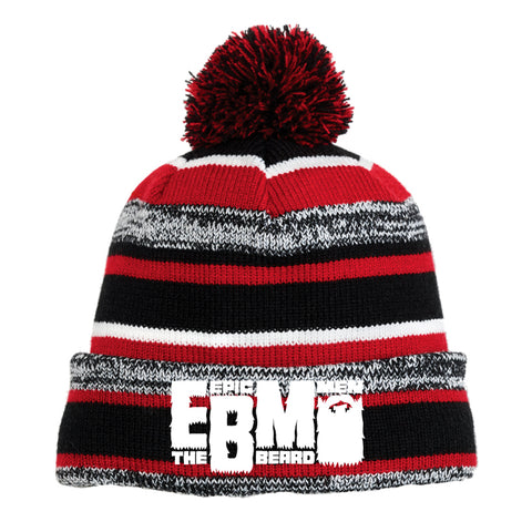 Epic Beard Men STRIPED Knit Hat