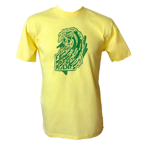 Free Moral Agents Yellow T-Shirt
