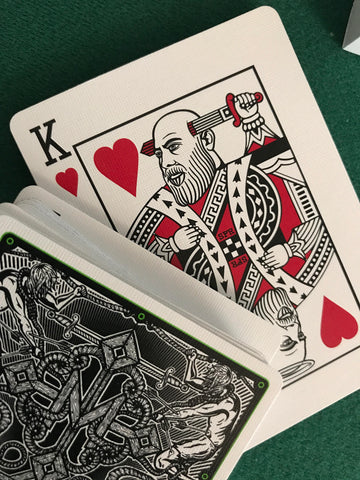 "Sage Francis x Daniel Madison ""Hellions"" SIGNED Playing Cards"