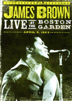 James Brown - Live At The Boston Garden 1968 DVD